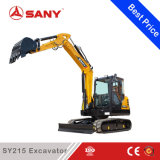 Sany SY215 21,5 t moyen Pelle hydraulique sur chenilles Earth Mover