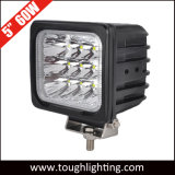EMC는 5 인치 60W 정연한 크리 사람 LED 일 빛을 승인했다