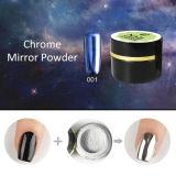 Meilleur poudre miroir Ever Ibn Silver / Gold Nail Mirror Powder