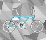 La bici elettrica di colore dell'azzurro di cielo dello ione di Tsinova viene con la batteria di ione di litio di Panasonic