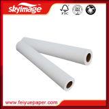 """Fw 75GSM 24"""" 328pieds du rouleau de papier de transfert par sublimation thermique pour les vêtements"""