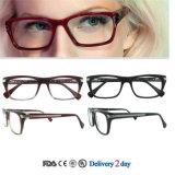 Nuovi modelli degli occhiali dell'acetato del blocco per grafici all'ingrosso di vetro dei telai di vetro