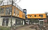 Мини-Кафе контейнер дом Стальной дом крошечных домов