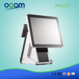 Het Systeem van het Restaurant J1900 2g 32g SSD POS van het Scherm van de aanraking met Thermische Printer