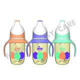 Frasco de alimentação de PPSU boca larga com punho /BPA livre 300ml
