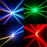 8 PCS * 10W RGBW 4in1 LED Armkreuz-helles bewegliches Hauptlicht