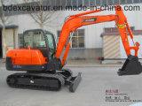 Mini excavatrice 5.5ton/0.2cbm de contrat de chenille de Baoding