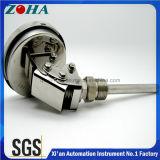 Termómetro Bimetal em aço inoxidável para multiuso