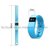 0.49 '' braceletes espertos oled do Wristband da tela com Bluetooth 4.0 Tw64
