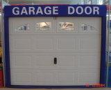 Наружный вид в поперечном разрезе автоматического открывания гаражных дверей/через дверь гаража головки блока цилиндров