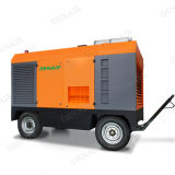 Denair Mining Diesel Portable Screw Air Compressor pour Drilling