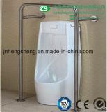 Barra di gru a benna anticorrosiva dell'acciaio inossidabile per urinario maschio