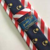 2017 cravates tissées par Micorfiber de piste de la mode des hommes (L036)