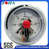 Öl - gefüllte Schlag-Beweis-elektrische Kontakt-Manometer
