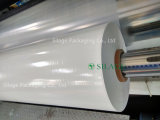 Geblasenes LLDPE breites Blatt, das für runden Ballen-Sperren-Film einwickelt