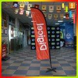 Bandera de plumas de la cuchilla personalizados para publicidad o eventos al aire libre o en la playa bandera