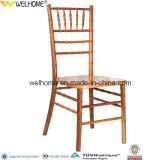 宴会のためのTiffanyの安い木製のスタック可能椅子