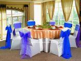 Оптовая торговля свадебный банкет событий белый спандекс стул полиэфирная крышки крышка стола (YC-805)