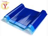 Folha de teto de PRFV Glassfiber coloridos Telha