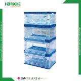 Caisse plastique pliable empilables pour les fruits et légumes