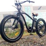 Bicicleta elétrica do pneu do Hummer 26*4.0 de MTB 500W com freios de disco