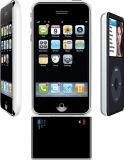 chargeur in-1 de l'iSound 2 et batterie de support pour l'iPhone 3G
