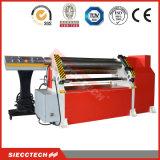 Máquina de laminação simétrica do rolete três / máquina de dobragem / Placa máquina de dobragem / máquina de laminação mecânica / Mecânica Bender / Cilindro da Chapa