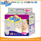 2017 tecidos sonolentos descartáveis Pampering do bebê