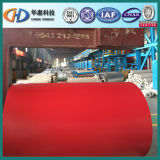 Prepainted оцинкованной стали 0.14мм-0.6катушки (мм)