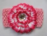 Daisy цветы, Gebera последовательно, аксессуары для волос и волос орнамент и спицы головная стяжка