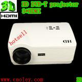 Best 3000 lumens 180W lâmpada LED Projector Full HD, Nativo1280*800 3D projectores LCD projector com 2 sintonizador de TV HDMI USB para Home Theater