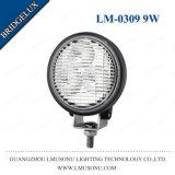 둥근 기관자전차 LED 일 빛 9W 3.2 인치 Bridgelux IP67