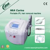 Macchina portatile del laser di depilazione per il salone di bellezza (N6+Carina)