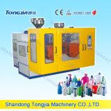 Máquina auto doble del moldeo por insuflación de aire comprimido de la estación de trabajo