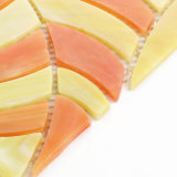 ハイエンド虹色のクラフトのBacksplashの装飾的なタイルのステンドグラスのモザイク