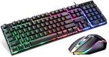 $4.50 Regenbogen-heller Schlüssel mit der hellen Spiel-Tastatur-Maus kombiniert