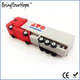 Пвх 3D дизайн груза погрузчик форму флэш-накопитель USB (XH-USB-116)
