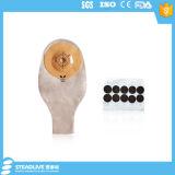 Einteiliger konvexer vorgeschnittener undurchlässiger dränierbarer Beutel