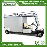 carro de golfe elétrico do veículo utilitario do motor 5kw para o uso do hotel