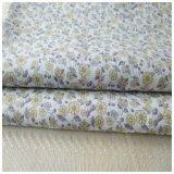 Leinenbaumwollmischungs-Druck-Gewebe für Kleid, Hemd, T-Shirt