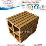 Reciclagem de plástico de madeira WPC Profile linha de produção (SJ-65/132 SJ-51/105 SJ-80/156)