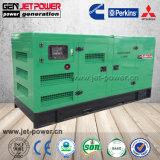 パーキンズ200kwのディーゼル発電機セット250kVA 380V 3phaseの無声発電機