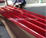 Tetto impresso del metallo di colore con il feltro sulle lamiere indietro ondulate di PPGI