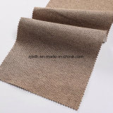 Made in China Ropa de poliéster sofá de tela de tapicería de tela de lino tejido de lino