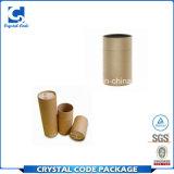 Tubo de papel respetuoso del medio ambiente para el bálsamo de labio
