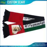 Sciarpa nazionale lavorata a maglia/Spandex lavorata a maglia acrilico della seta Satin/100% dei UAE (B-NF19F06011)