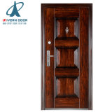 Las puertas de entrada principal de hierro de diseño de parrilla