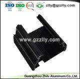 La transferencia de alta calidad Wood-Grain Disipador de aluminio extruido