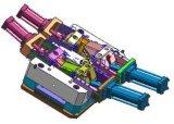 Prototyp-Form für Aluminium Druckgußrearview-Spiegel-Bauteil - W