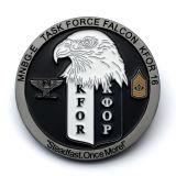 Mayorista de alimentación de la fábrica de metal militar americano personalizado recuerdos Eagle monedas